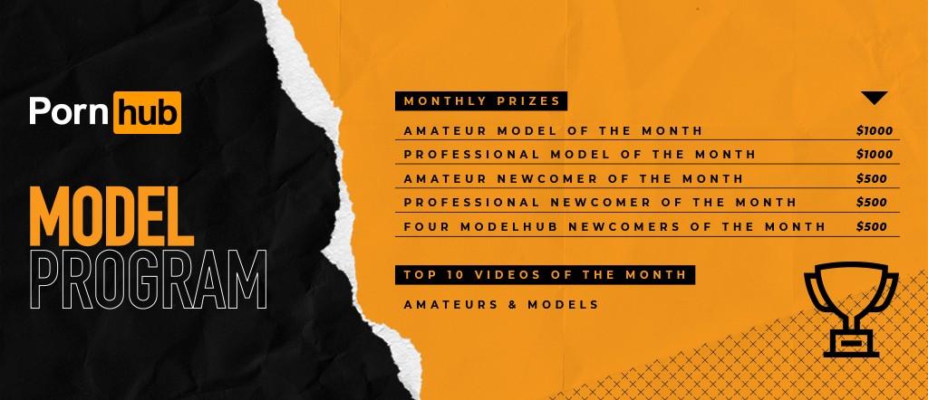 Model Program - Monthly Prizes July 2021 Banner