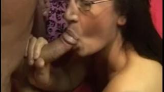 Screen Capture of Video Titled: Emma Butt and friend get gangbanging
