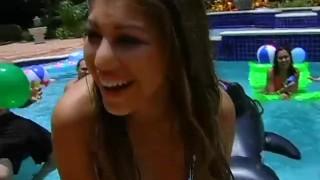 wild orgy pool party