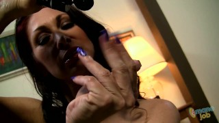 Screen Capture of Video Titled: Manojob Tiffany Mynx