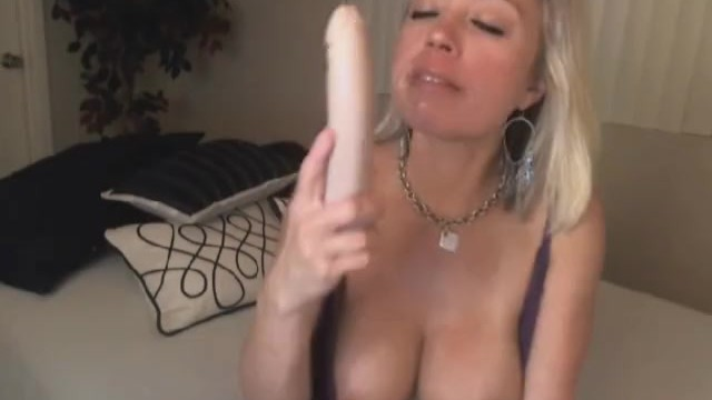 Busty Blonde Dildo Squirt
