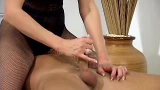 Screen Capture of Video Titled: The Lady Milks The Slave