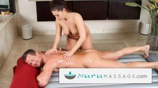 Screen Capture of Video Titled: NuruMassage Big Titty Asian Massage