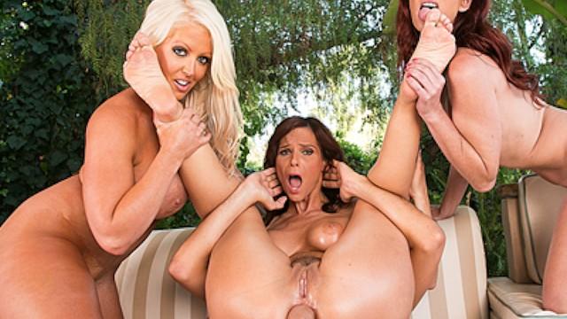 Latina Pornstar Anal Threesome