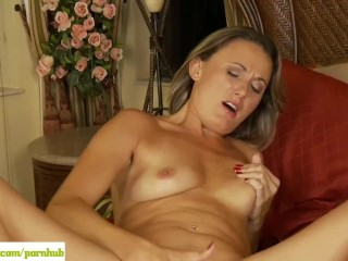 Misty Law Fingers Her Pussy