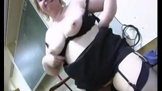 French bbw love cum