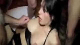 Wife Bondage Gangbang