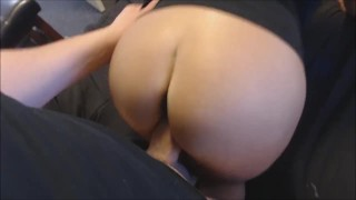 Screen Capture of Video Titled: doggy-style fuck my girlfriend's creamy pussy