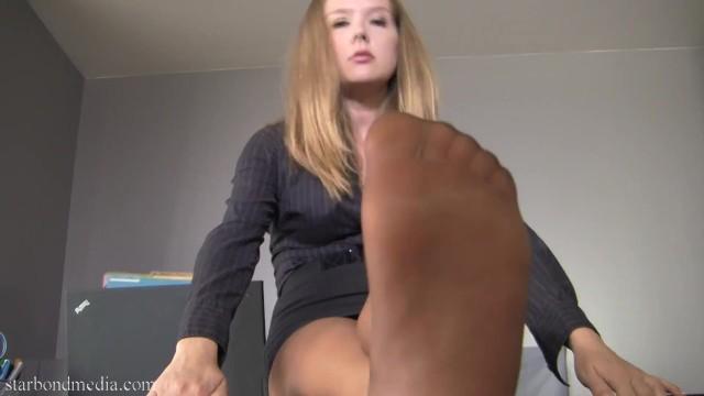 Schöne Teen Füße Anbetung
