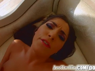 Ass Traffic French babe loves anal sex
