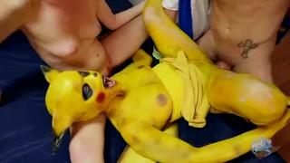 Screen Capture of Video Titled: Strokemon XXX Pokemon Porn Parody