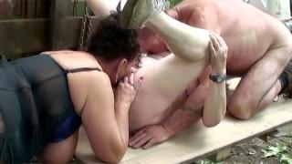 72 yr old granny outdoor sex