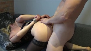 Screen Capture of Video Titled: Beautiful couple squirting wife cum during hard fuck