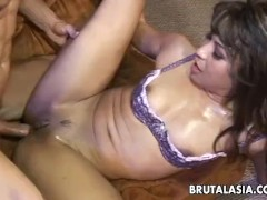 Smoking Warm Japanese Super-bitch Fucking A Huge Dick So Hard