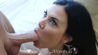 PureMature - Vixen Jasmin Jae gives amazing blowjob