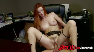 Screen Capture of Video Titled: ZTOD - Karlie Montana Wants Her Employees Cock