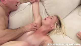 Screen Capture of Video Titled: Super Cute Fucked By StepBig Cock!
