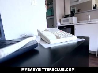 MyBabySitters – Cute Young Babysitter Fucks Dad