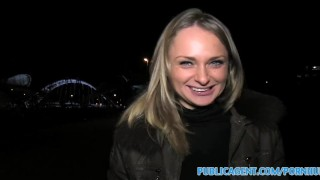 Screen Capture of Video Titled: PublicAgent Loud sex with hot russian babe