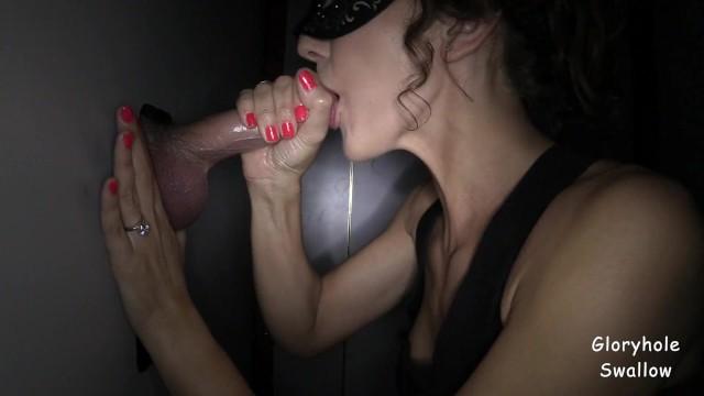 Amateur Wife Gloryhole Swallow