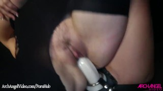 Screen Capture of Video Titled: Remy Lacroix fucked with a strapon by Dana Dearmond