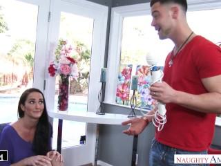 Bianca Breeze seduces her friend 's husband & his big dick - Naughty America