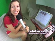 Lelu Love-PODCAST: Ep15 What Gear We Use To Record Our Porn funny retro sex