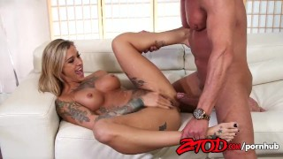 Screen Capture of Video Titled: Kleio Valentien Fucked Hard Squirts.
