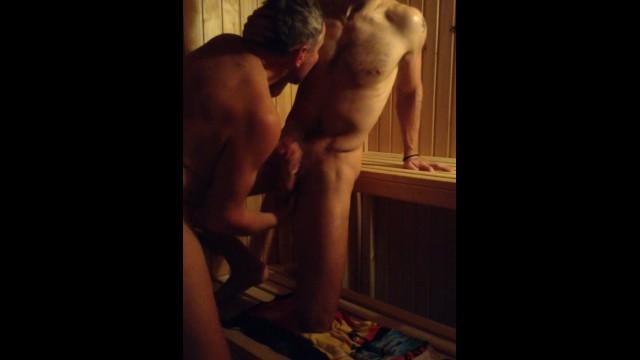 Guy gets fucked in sauna Straight Guys Fucking In Sauna Pornhub Com