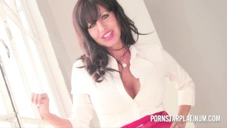 Screen Capture of Video Titled: Hot Latin MILF Tara Holiday Takes Young Stud After Hard Day