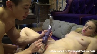 Blended Squirting Orgasms with Kenneth play (Sex Hack How to)