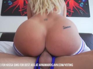 SinsLife - Kissa Sins Ass Compilation!