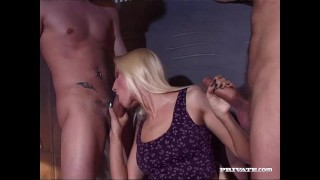 Private.com - Sophie Roche Gets Hardcore Gangbang
