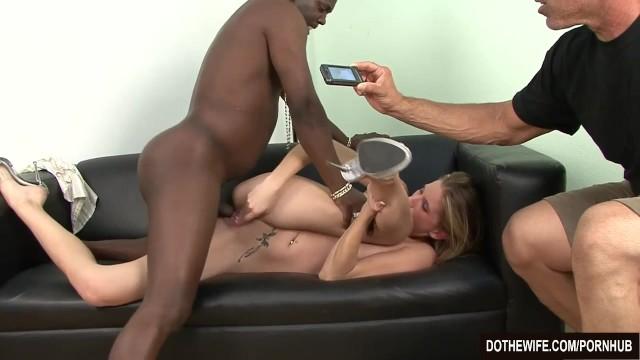 Blonde Shemale Fucks Guy