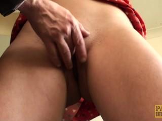 Fingerfucked english slut dickriding maledom