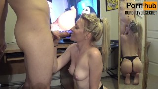 Screen Capture of Video Titled: BEST Cock Hero! - How the fuck did he last that long?! - OurDirtyLilSecret