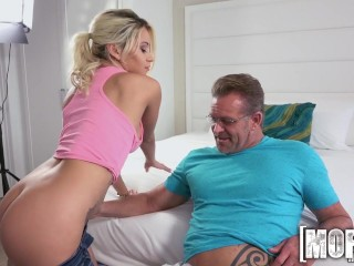 Mofos- Marsha May Bangs a Random Perv Tape