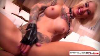 Screen Capture of Video Titled: FirstClassPOV - Shove your dick in the tight asshole of Kleio Valentien