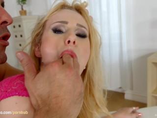 Angel Wicky gets a messy creampie in All Internal scene