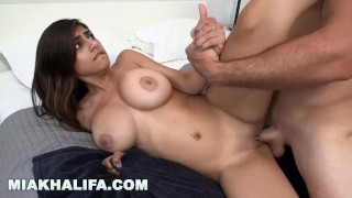Mia Khalifa Shows Off Big Tits in Shower and Gets Fucked Hard! (mk13783)