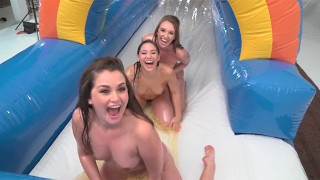 Clip Girling - Riley Reid, Piper Perry, Abella Danger, and Friends Nude Sliding