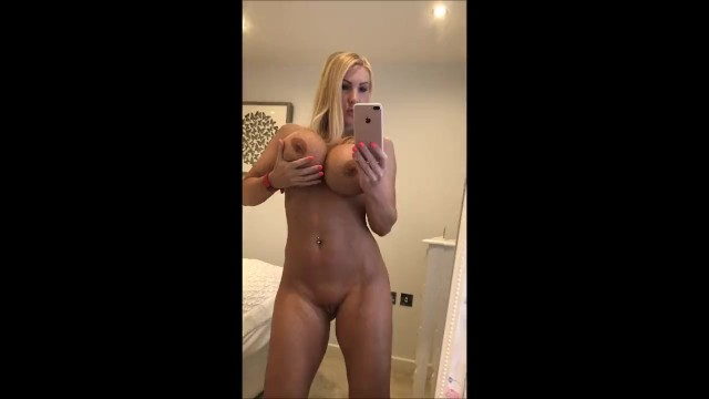 Nude selfie video