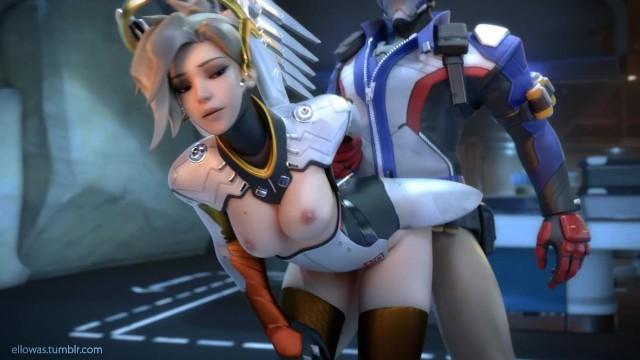 Overwatch Mercy X Soldier 76