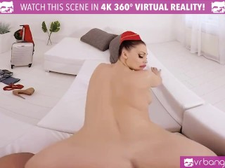 VRBANGERS-Busty Aletta Ocean In Sexy Costume Get Banged And Titty Fuck