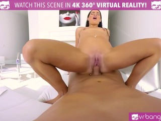 VR PORN-Hot Brunette Fuck in the ass and cum hard!