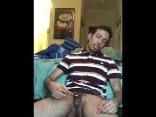 Cumming Masculine Transguy