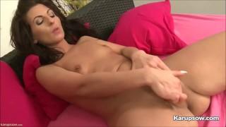 Kim Kelly Fingering Her Tight Pussy