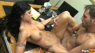 Screen Capture of Video Titled: my boss is a cougar - Scene 4