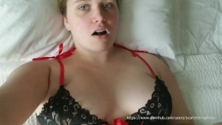 Screen Capture of Video Titled: Scarlett Knightley - Passionate Love Making After Being Away