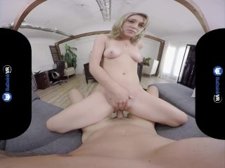 BaDoinkVR.com Vaginal Manipulation By Natural Titted Lily LaBeau POV
